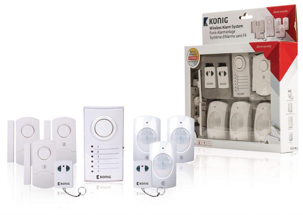 Alarmsysteem huis